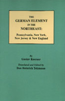 The German Element of the Northeast